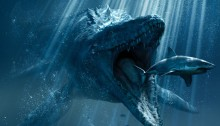 Poster du film Jurassic World réalisé par Colin Trevorrow avec Chris Pratt, Bryce Dallas Howard, Vincent D'Onofrio