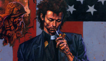 Couverture du comic Preacher
