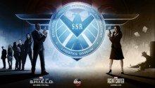 Poster SDCC avec Les Agents du SHIELD et Agent Carter