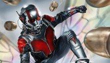Poster du film Ant-Man réalisé par Peyton Reed, d'après un scénario d'Adam McKay et Paul Rudd, avec Paul Rudd