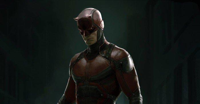 Concept art du costume de Daredevil par Ryan Meinerding