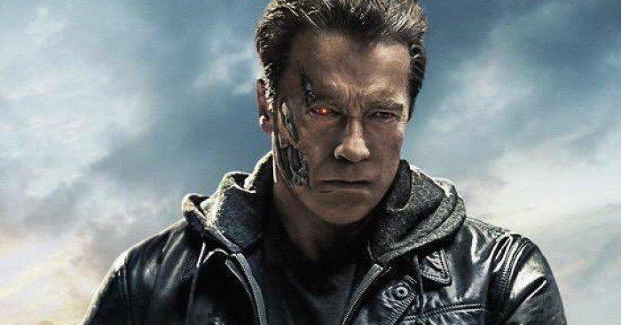 Poster du film Terminator: Genisys réalisé par Alan Taylor avec Arnold Schwarzenegger (T-800)