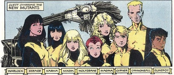 Image du groupe The New Mutants