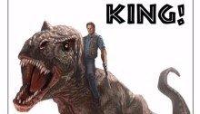 Concept-art d'Andy Park pour récompenser Jurassic World