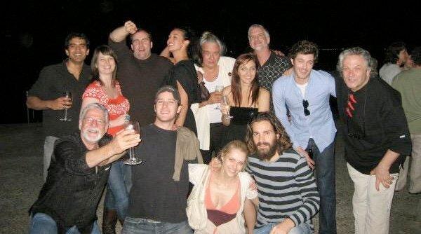 Photo du casting pour le film Justice League Mortal