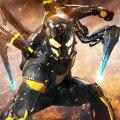 Poster du film Ant-Man réalisé par Peyton Reed, d'après un scénario d'Adam McKay et Paul Rudd, avec Yellowjacket (Corey Stoll)