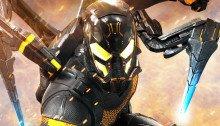 Poster du film Ant-Man réalisé par Peyton Reed, d'après un scénario d'Adam McKay et Paul Rudd, avec Yellowjacket