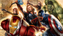 Concept Art pour le film Avengers