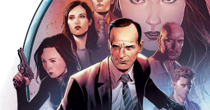 Poster de la saison 3 d'Agents of SHIELD Poster de la saison 3 d'Agents of SHIELD par Jim Cheung