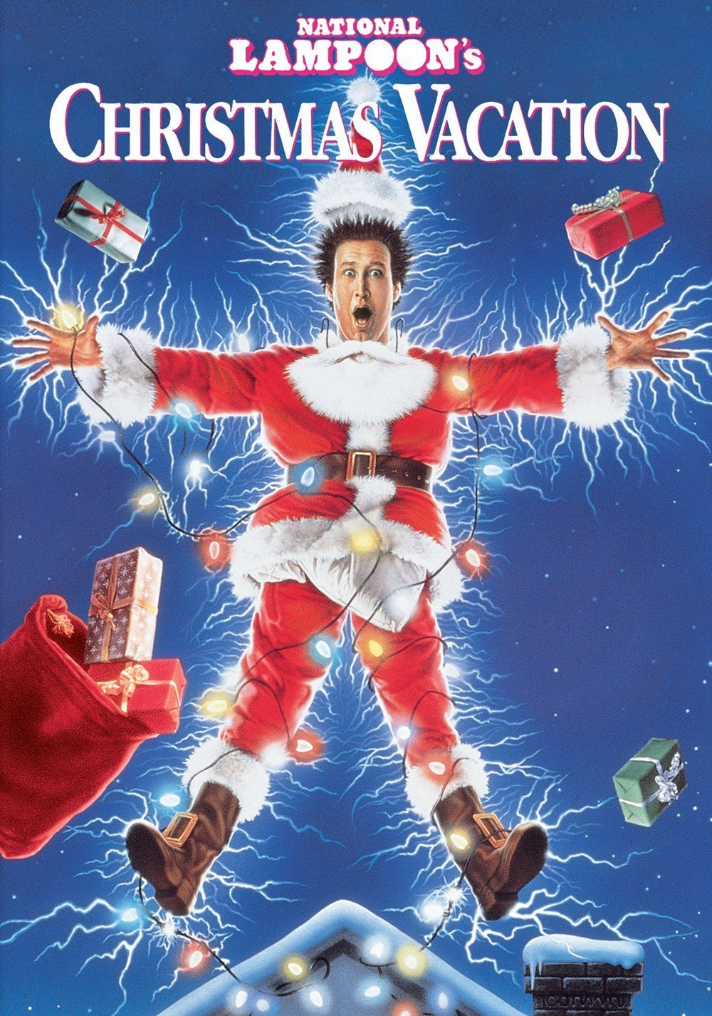 poster le sapin a les boules national lampoon s christmas vacation. Black Bedroom Furniture Sets. Home Design Ideas