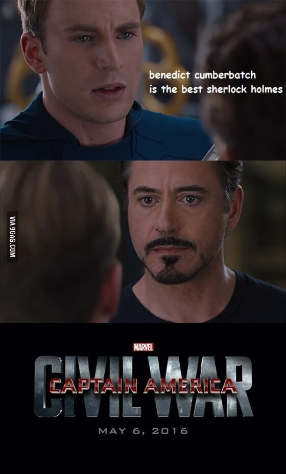 Humour pour Captain America: Civil War