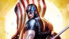 Image avec Captain America