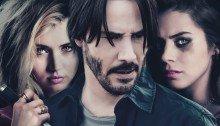 Affiche du film Knock Knock réalisé par Eli Roth avec Keanu Reeves, Lorenza Izzo, Ana de Armas