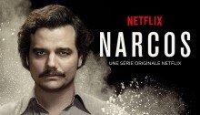Affiche de la première saison de Narcos, série créée par Carlo Bernard, Chris Brancato, Doug Miro, Paul Eckstein, avec Pablo Escobar (Wagner Moura)