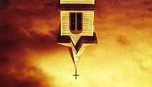 Poster teaser de la série Preacher, série co-produite par Sony Pictures Television et AMC Studios