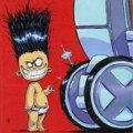 Couverture du comic Marvel, X-Men Legacy 2012 1 (Skottie Young Marvel Babies Variant)