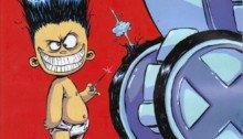 Couverture du comic Marvel, X-Men Legacy 2012 1 (Skottie Young Marvel Babies Variant)