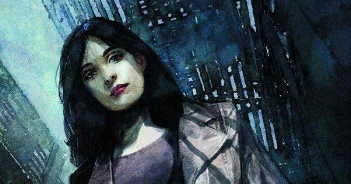 Poster de la série Marvel/Netflix Jessica Jones par Alex Maleev