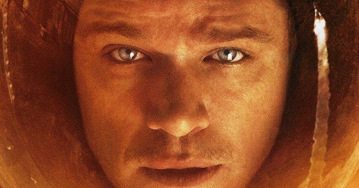 Affiche du film Seul sur Mars réalisé par Ridley Scott, d'après un scénario de Drew Goddard, avec Matt Damon