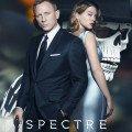 Poster du film Spectre avec Daniel Craig et Léa Seydoux