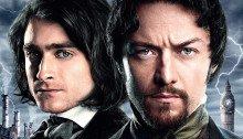 Affiche française du film Docteur Frankenstein réalisé par Paul McGuigan avec James McAvoy et Daniel Radcliffe