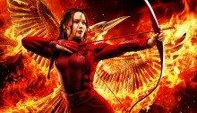 Affiche française du film Hunger Games: La Révolte - Partie 2 réalisé par Francis Lawrence avec Jennifer Lawrence