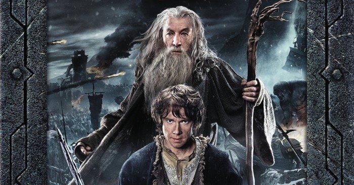 Couverture Blu-ray de la version longue de Le Hobbit : La Bataille des Cinq Armées