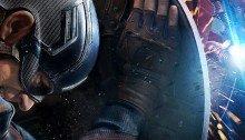 Poster de Captain America: Civil War réalisé avec Captain America face à Iron Man