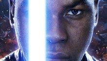 Affiche de Finn pour Star Wars: Episode VII – Le Réveil de la Force avec Finn