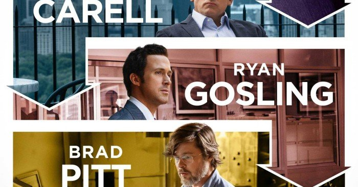 Affiche de The Big Short: Le Casse du Siècle