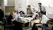 Poster du film Spotlight réalisé par Tom McCarthy avec Michael Keaton, Mark Ruffalo, Rachel McAdams, Liev Schreiber, John Slattery
