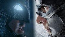 Image mélangeant Batman v Superman: L'aube de la justice et Captain America: Civil War