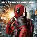 Affiche française du film Deadpool réalisé par Tim Miller avec Ryan Reynolds