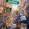 Affiche de Zootopie réalisé par Byron Howard, Rich Moore, Jared Bush