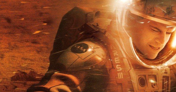 Poster du film Seul sur Mars réalisé par Ridley Scott, d'après un scénario de Drew Goddard, avec Matt Damon