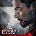 Affiche de Captain America: Civil War avec Tony Stark (Team Iron Man)