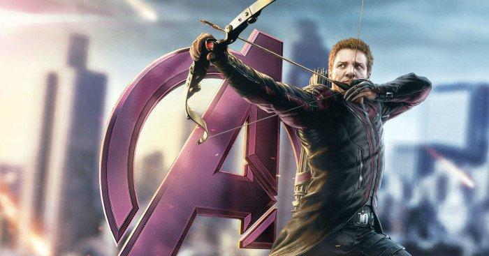 Concept Art du film Avengers: l'Ère d'Ultron avec Hawkeye