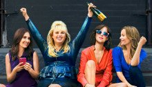 Affiche française du film Célibataire, mode d'emploi réalisé par Christian Ditter avec Dakota Johnson, Rebel Wilson, Leslie Mann et Alison Brie