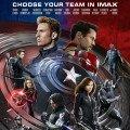 Poster IMAX de Captain America: Civil War