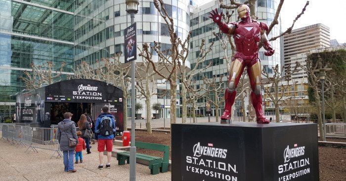 Photo de l'exposition Marvel Avengers S.T.A.T.I.O.N.