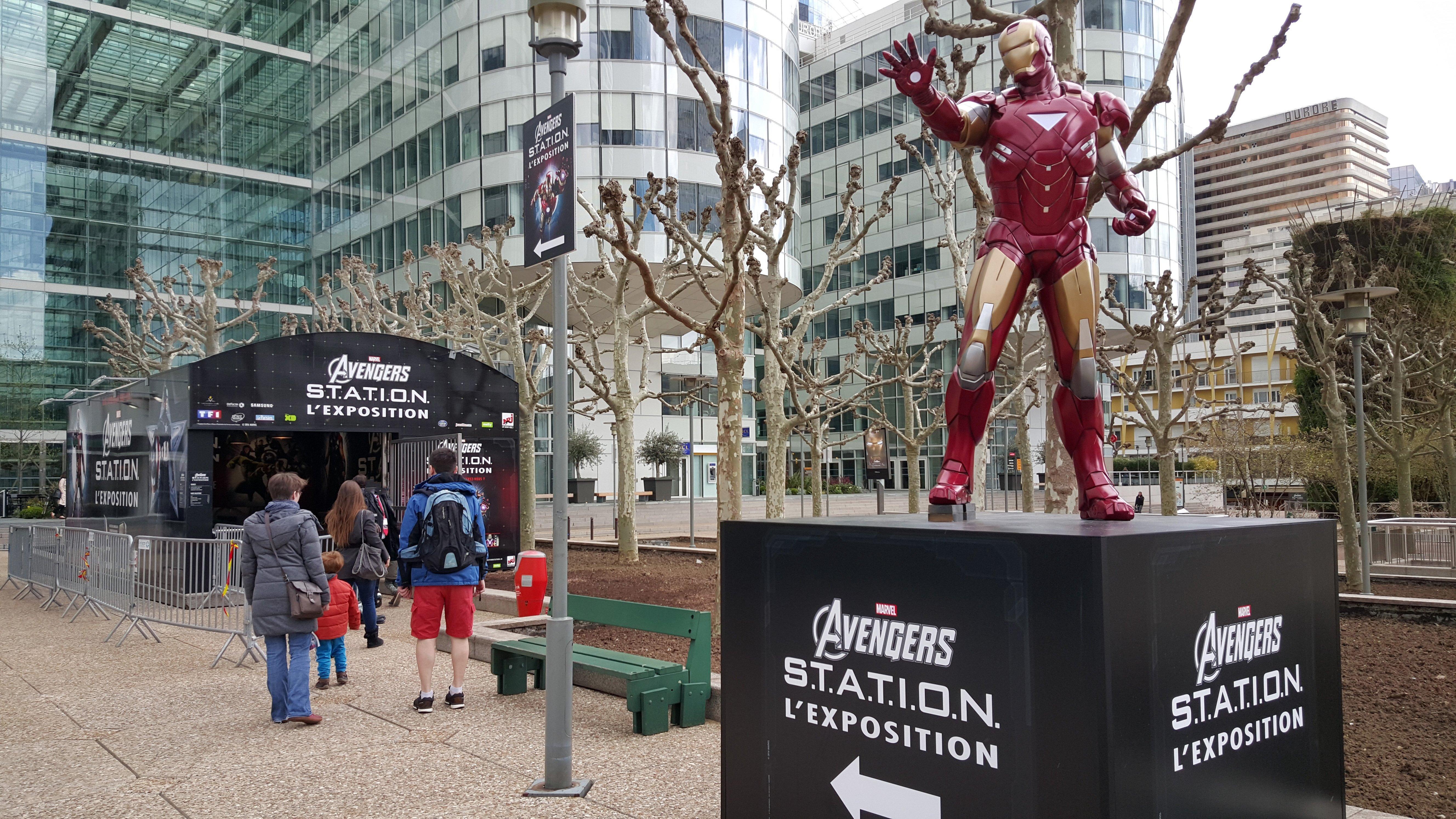 Exposition marvel avengers s t a t i o n paris for Exposition jardin paris 2016