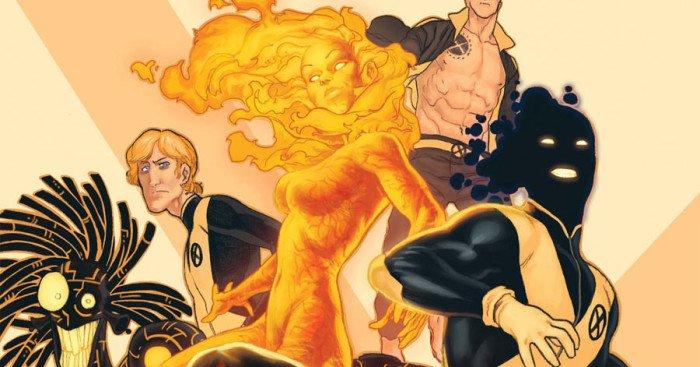 Couverture du comic Marvel, The New Mutants