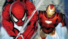 cover invincible iron man 7 spider-man