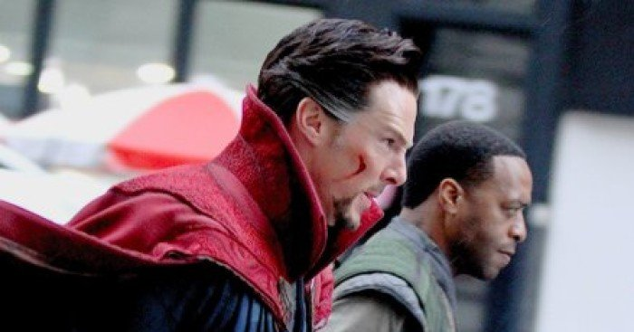 Photo de Doctor Strange avec Benedict Cumberbatch et Chiwetel Ejiofor