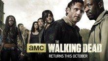 Bannière de la saison 6 de The Walking Dead