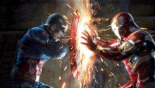 Photo du film Captain America: Civil War réalisé par Anthony et Joe Russo avec Captain America face à Iron Man