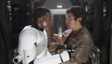 Photo de Star Wars: Le Réveil de la Force avec Finn et Poe