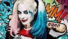 Poster personnage de Suicide Squad avec Harley Quinn