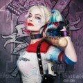 Poster personnage de Suicide Squad avec Margot Robbie alias Harley Quinn