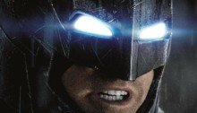 Poster inutilisé de Batman v Superman: Dawn of Justice avec Batman